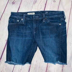 AG Adriano Goldschmied The Angel Bootcut Shorts